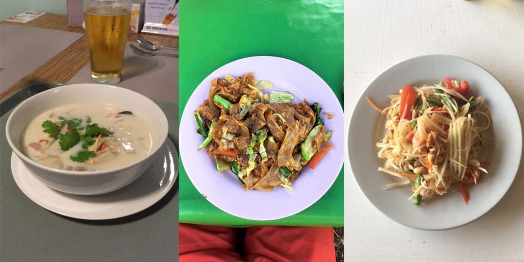 Tailândia comida