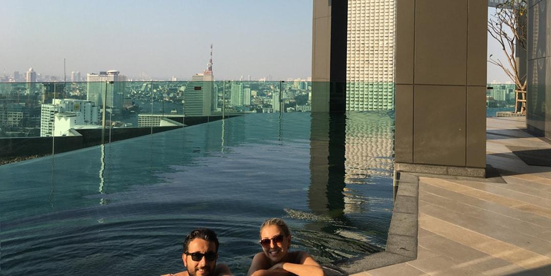 Tailândia piscina