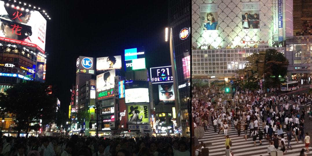 Tóquio shibuya crossing