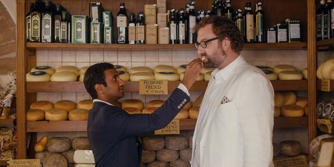italy food in master of none