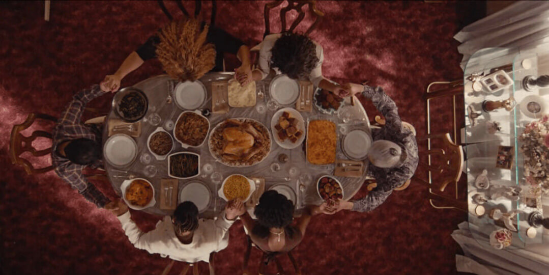 thanksgiving food in master of none