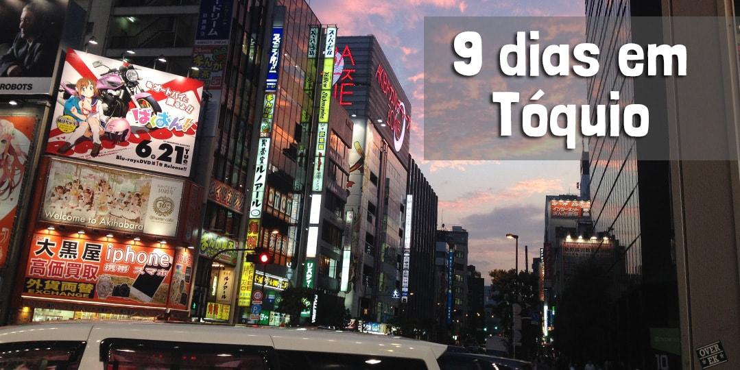 viajando para Tóquio